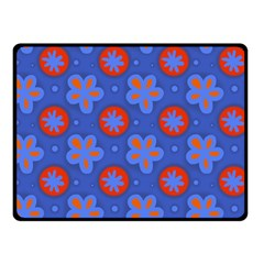 Seamless Tile Repeat Pattern Double Sided Fleece Blanket (small)