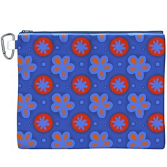 Seamless Tile Repeat Pattern Canvas Cosmetic Bag (xxxl)