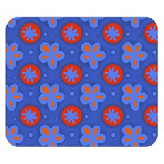 Seamless Tile Repeat Pattern Double Sided Flano Blanket (small)