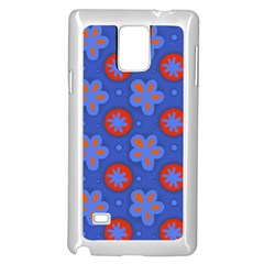 Seamless Tile Repeat Pattern Samsung Galaxy Note 4 Case (white)