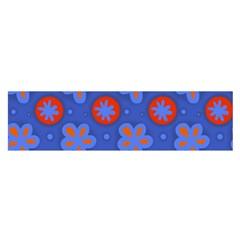 Seamless Tile Repeat Pattern Satin Scarf (oblong)
