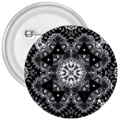 Mandala Calming Coloring Page 3  Buttons