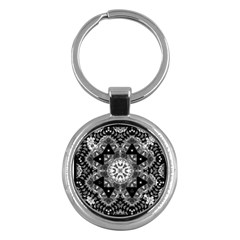 Mandala Calming Coloring Page Key Chains (round)