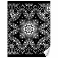 Mandala Calming Coloring Page Canvas 18  X 24