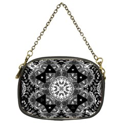 Mandala Calming Coloring Page Chain Purses (one Side)