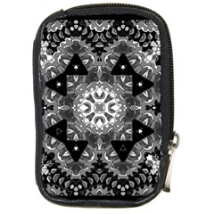 Mandala Calming Coloring Page Compact Camera Cases
