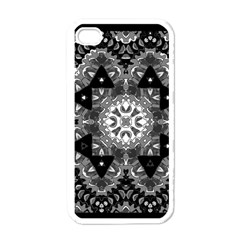Mandala Calming Coloring Page Apple Iphone 4 Case (white)
