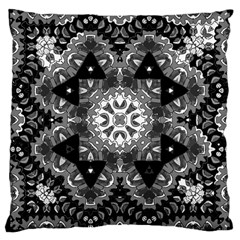 Mandala Calming Coloring Page Large Cushion Case (two Sides)