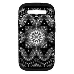 Mandala Calming Coloring Page Samsung Galaxy S Iii Hardshell Case (pc+silicone)