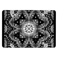 Mandala Calming Coloring Page Samsung Galaxy Tab 8 9  P7300 Flip Case