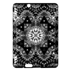 Mandala Calming Coloring Page Kindle Fire Hdx Hardshell Case