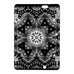 Mandala Calming Coloring Page Kindle Fire Hdx 8 9  Hardshell Case