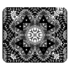 Mandala Calming Coloring Page Double Sided Flano Blanket (small)
