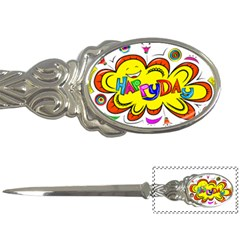 Happy Happiness Child Smile Joy Letter Openers