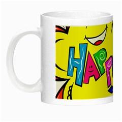 Happy Happiness Child Smile Joy Night Luminous Mugs