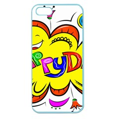 Happy Happiness Child Smile Joy Apple Seamless Iphone 5 Case (color)