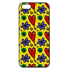 Seamless Tile Repeat Pattern Apple Iphone 5 Seamless Case (black)