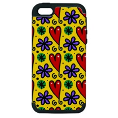 Seamless Tile Repeat Pattern Apple Iphone 5 Hardshell Case (pc+silicone)