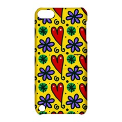 Seamless Tile Repeat Pattern Apple Ipod Touch 5 Hardshell Case With Stand