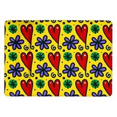 Seamless Tile Repeat Pattern Samsung Galaxy Tab 10 1  P7500 Flip Case