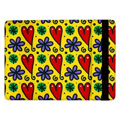 Seamless Tile Repeat Pattern Samsung Galaxy Tab Pro 12 2  Flip Case