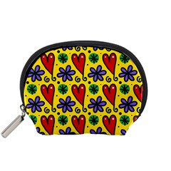 Seamless Tile Repeat Pattern Accessory Pouches (small)