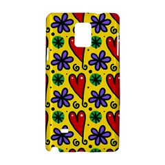 Seamless Tile Repeat Pattern Samsung Galaxy Note 4 Hardshell Case