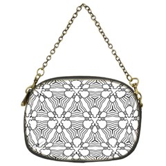 Pattern Design Pretty Cool Art Chain Purses (two Sides)