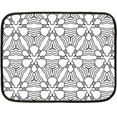 Pattern Design Pretty Cool Art Fleece Blanket (mini)