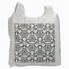 Pattern Design Pretty Cool Art Recycle Bag (one Side)
