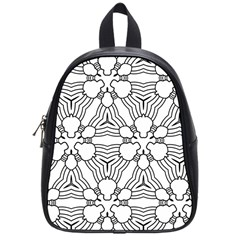Pattern Design Pretty Cool Art School Bag (small)