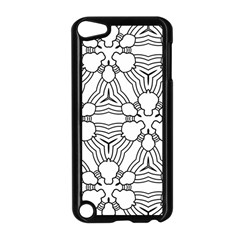 Pattern Design Pretty Cool Art Apple Ipod Touch 5 Case (black)