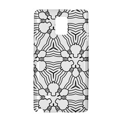 Pattern Design Pretty Cool Art Samsung Galaxy Note 4 Hardshell Case