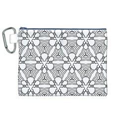 Pattern Design Pretty Cool Art Canvas Cosmetic Bag (xl)