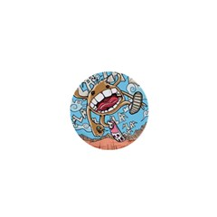Illustration Characters Comics Draw 1  Mini Buttons