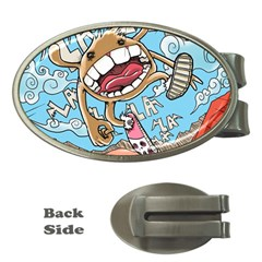 Illustration Characters Comics Draw Money Clips (oval)