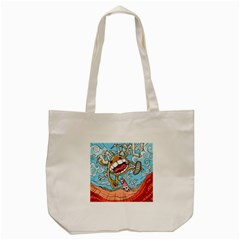 Illustration Characters Comics Draw Tote Bag (cream)