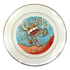Illustration Characters Comics Draw Porcelain Plates