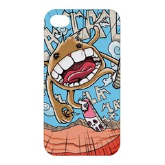 Illustration Characters Comics Draw Apple Iphone 4/4s Hardshell Case