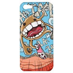 Illustration Characters Comics Draw Apple Iphone 5 Hardshell Case
