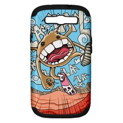Illustration Characters Comics Draw Samsung Galaxy S Iii Hardshell Case (pc+silicone)