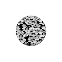 Mandala Calming Coloring Page Golf Ball Marker