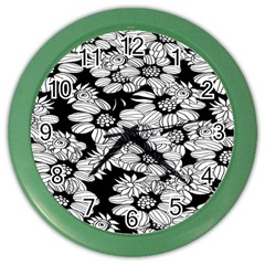 Mandala Calming Coloring Page Color Wall Clocks