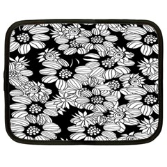 Mandala Calming Coloring Page Netbook Case (large)