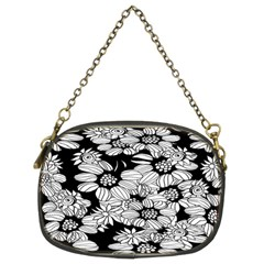 Mandala Calming Coloring Page Chain Purses (two Sides)