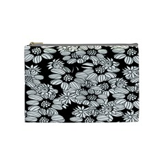 Mandala Calming Coloring Page Cosmetic Bag (medium)