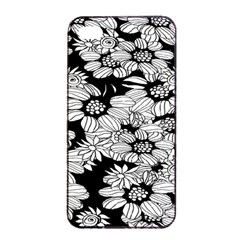 Mandala Calming Coloring Page Apple Iphone 4/4s Seamless Case (black)