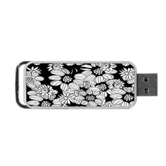 Mandala Calming Coloring Page Portable Usb Flash (one Side)