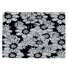 Mandala Calming Coloring Page Cosmetic Bag (xxl)