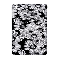 Mandala Calming Coloring Page Apple Ipad Mini Hardshell Case (compatible With Smart Cover)